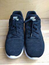 Nike Lunarepic Low Flyknit 2: Running Trainers - 863779 001 - Black UK 10 EUR 45