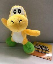 "Super Mario Keychain Yellow Yoshi Plush 5"""