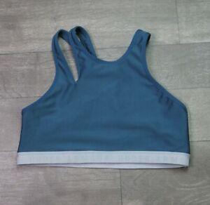 Under Armour Sports Bra Women's Size Medium M Blue