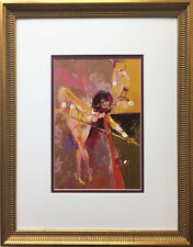 "LeRoy Neiman ""Bunny Pool"" Custom FRAMED ART PRINT Billiards Pool Hall Playboy"