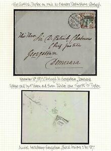 GB SCOTLAND EDINBURGH BRITISH GUIANA CHIEF JUSTICE 1887