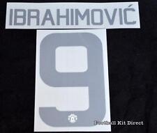 Manchester United Ibrahimovic 9 2016/17 Europa cup football shirt Name set Third