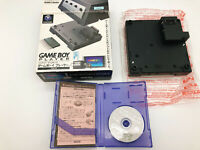 【Boxed】Nintendo GameCube Black Gameboy Player & Startup Disc F/S Japan #0211A