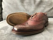 a. testoni Basic Men's Oxford Dress Shoes Burgundy US 11
