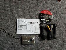 CASIO Silver Exilim EX-Z60 6.0 Megapixel Digital Compact Camera boxed