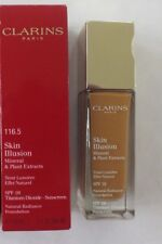 CLARINS SKIN ILLUSION NATURAL RADIANCE FOUNDATION # 116.5 COFFEE SPF 10 1.1 OZ
