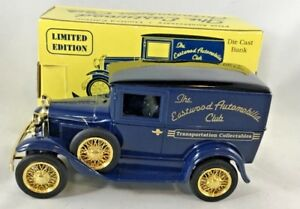 1931 Ford Panel Truck Limited Edition Die Cast Bank First Anniversary 1992 New