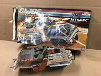 GI Joe ARAH Sky Patrol Sky Havoc Near Complete With Box