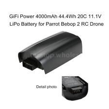 DishyKooker 4000mAh 11.1V Rechargeable Lipo Battery for Parrot Bebop 2 Drone