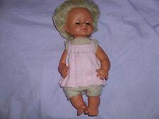 alte blonde Götz-Puppe 18/43/71, Schlafaugen und weint