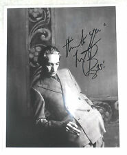 CHARLIE WATTS AUTHENTIC 8x10 inch SIGNED PHOTO COA THE ROLLING STONES DRUMMER