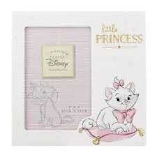 "Disney Marie ""Little Princess"" Photo Frame 4x6"" NEW Baby Gift Idea"