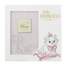 "Disney Marie ""Little Princess"" Photo Frame 4x6"" NEW Baby Gift Idea  26410"