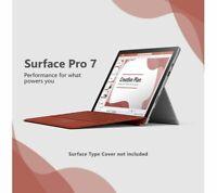 "Microsoft Surface Pro 7 12.3 "" Touchscreen Quad Intel Core i5 8GB RAM 128GB SSD"