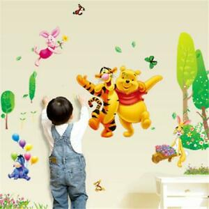 X Large WINNIE THE POOH Trees Wall Stickers Removable Kids Baby Nursery Decor
