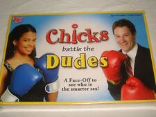 CHICKS BATTLE THE DUDES A FACE-OFF GAME TO SEE WHO IS SMARTER BRAND NEW! SEALED!