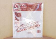 NEW Print File 120-3HB 120 6x6 6x7 645 Film Negative Storage Sleeves 100 pk