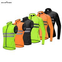 Pro Team Wind Gilet Sleeveless Cycling Vest Men MTB Road Bike Long Sleeve Jersey