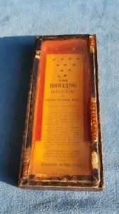 Antique R J Series of Puzzles The Bowling Green Pinless Bowling Alley Games