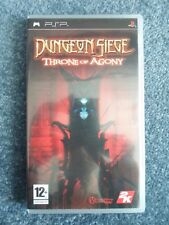 Sony PSP DUNGEON SIEGE THRONE OF AGONY 2K Games Video Game (b)