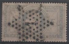 "FRANCE STAMP TIMBRE 33 "" NAPOLEON III 5F VIOLET GRIS "" OBLITERE A VOIR  M758"