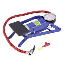 New Foot Air Pump Tyre Inflater Tire Air Bed Bike Ball Pressure Gauge Air Pump