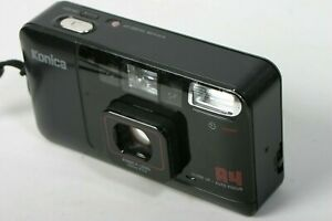 Konica  A4 Point & Shoot 35mm F3.5 Film Camera  Close-Up Feature TESTED WORKING