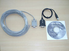 Skywatcher 10m PC serial cable Synta / Synscan & USB Adapter  Win 10 support