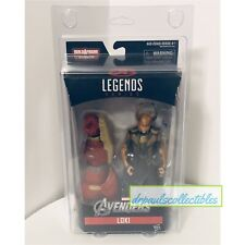 "Marvel Legends Avengers LOKI 6"" Figure Hulkbuster U.K. Exclusive New W/Protector"
