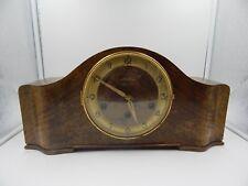 Vintage Mauthe Art Deco Mantel Clock C.H. Heaver Germany