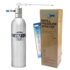FIRSTINFO  Aluminum Can Air / Pneumatic Refillable Pressure Sprayer