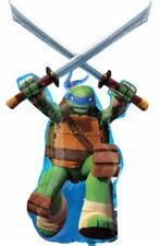 "Teenage Mutant Ninja Turtles Balloon - Giant Leonardo 26""X 43"" By Anagram"