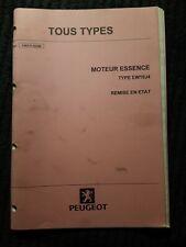 (308MA) Manuel d'atelier PEUGEOT TOUS TYPES - Moteur Essence Type EW10J4.