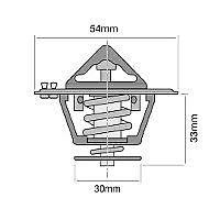 TRIDON THERMOSTAT FOR ISUZU FSR500 (Outer) Isuzu 6HE1 92-96