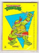 1989 Topps TEENAGE MUTANT NINJA TURTLES 1st Series Complete Sticker Set
