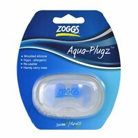 Zoggs Silicone Ear Plugs - Hypo-allergenic Earplugs for Swimming