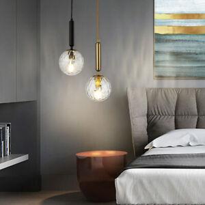Bar Pendant Light Bedroom Ceiling Lamp Kitchen Lights Glass Chandelier Lighting