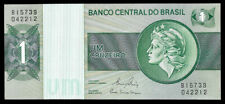 World Paper Money - Brazil 1 Cruzeiro Nd 1980 P191Ac @ Crisp Unc ; Ref# 212