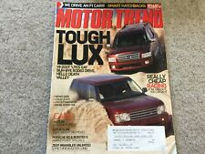 2004 Scion xA, Chevy Aveo,  Kia Rio Motor Trend Magazine