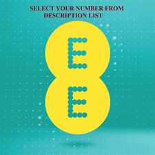 EE Pay As You Go Trio Standard/Micro/Nano sim card Gold Easy number