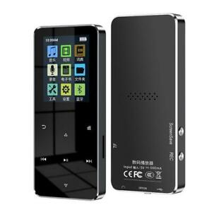 4-32G NEW 1.8 Inch Metal Touch MP3 MP4 Music Player Bluetooth 4.2 Supports Card