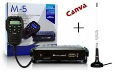 CB MOBILE RADIO MIDLAND M5 ALAN MULTIBAND + MINI MAG ANTENNA CANVA 874 KIT