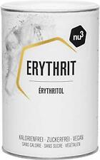nu3 Erythrit Zucchero Eritritolo 750 g - Dolcificante Senza Calorie + Indice...