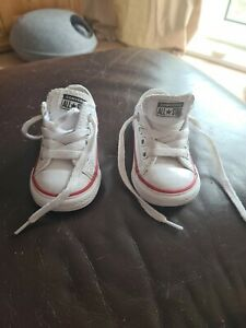 Converse Size 4 Baby Infant White