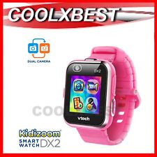 NEW VTECH KiDiZOOM DX2 KID's SMART WATCH / CAMERA TOUCH SCREEN PINK