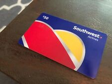 Southwest Airlines Gift Card $50.00 can email If you prefer