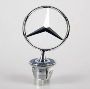 For MERCEDES Benz Front Hood Chrome Star Emblem Badge Logo 1994-2006 E CLAss 3D