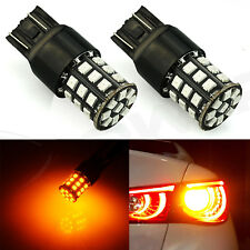 JDM ASTAR 2x 7443  7440 2835 33-SMD LED Turn Signal Light LED Bulbs Amber Yellow