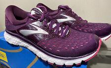 New Brooks Glycerin 16 Size 6 B Women's Running Shoes Unworn Purple/Pink/Gray