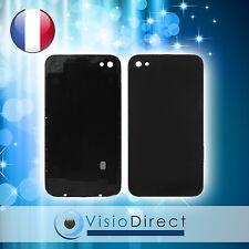 Vitre arrière de couleur noir pour iPhone 4